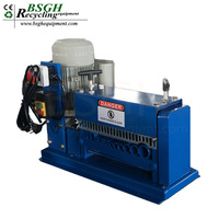 used scrap heavy industry cable wire recycling machine / cable wire stripping spearte machine