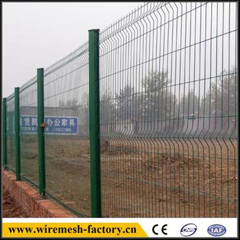welded curvy wire fence mesh cloth