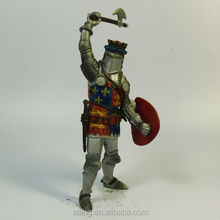 Soldiers Knights Figure Play Set Toys.With Metal Effects Color