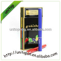 2014 electronic cigarette dry herb vaporizere shisha E hookah with Diamond Tip