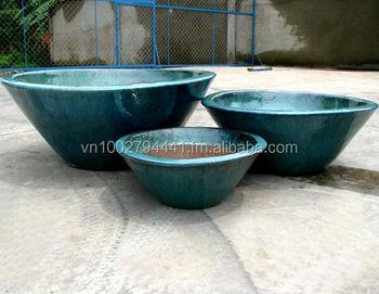 Wholesale Glazed Low Bowl Round Ceramic Glazed Low