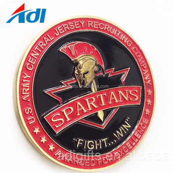 Custom Metal Material & Souvenirs Challenge Sports Old Metal Coins