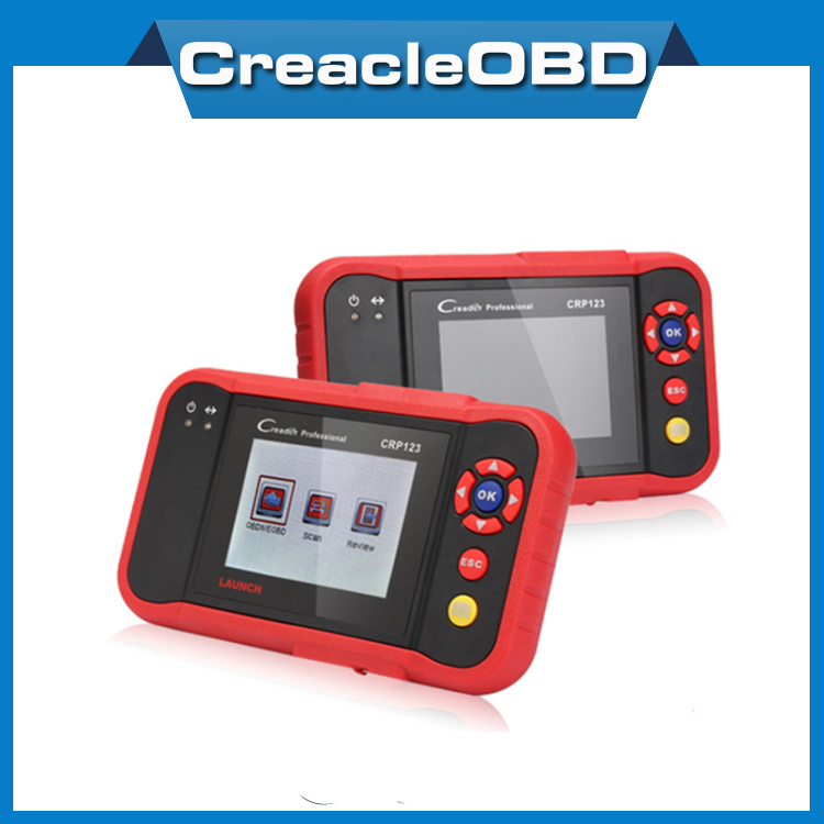 100% Original LAUNCH Creader Professional 123 Auto Code Reader Launch CRP123 Equal to CReader VII+ CRP 123 Update via internet