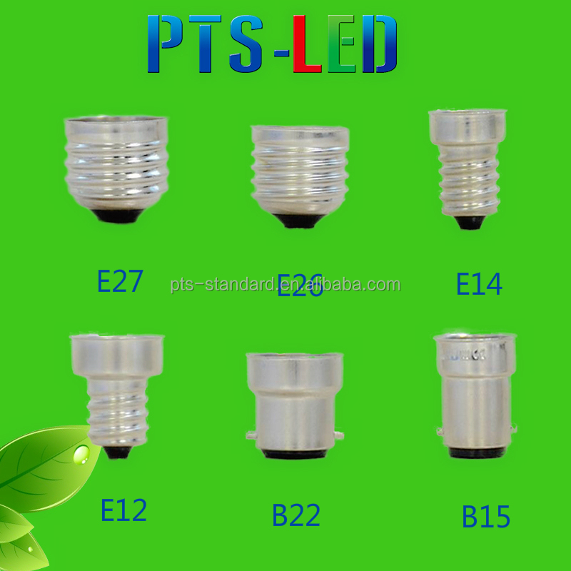High Quality CE RoHS Approval E14 E27 B22 Adapter Lamp Base Cap