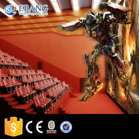 Hot Entertainment game luxury seats 7D cinema 9D game simulator,6d movie theater