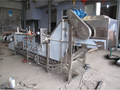 trade assurance mushroom washing slicing sterilization machine/canned mushroom processing assemble line