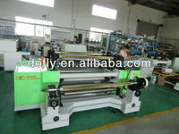 High speed EVA film slitting and rewinding machine
