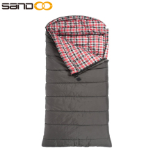 18 Degree C / 0 Degree F Flannel Lined Cheap Sharp Sleeping Bag