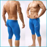 Free Shipping Brave Person 2015 Wholesale Men Compression Tights Compression Shorts Running Wear SB2221