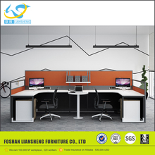 Simple design standard sizes of workstation furniture, mdoern price of cheap aluminum partition wall