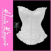 Wholesale satin wedding sexy mature women corset