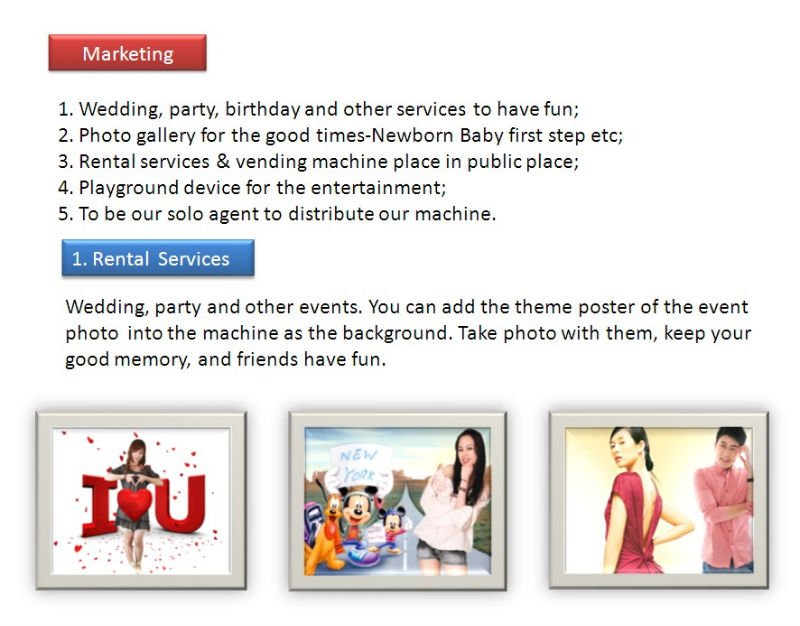Cool Clap Portable Wedding Party Events Photo Booth