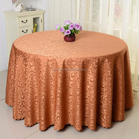 elegant jacquard damask tablecloth round printed table cover