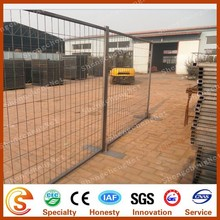 Low carbon steel wire mesh movable barricade outdoor temporary dog fence
