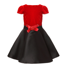 Accept Custom Design Model fashion beautiful kids party girl dresses for wedding