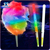 Eco-friendly food grade Wholesale Led Cotton Candy Stick,stick for cotton candy, LED flashing flossy cotton candy stick