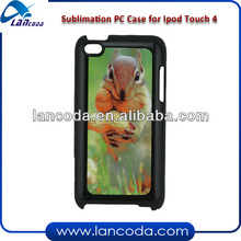 Sublimation Plastic Phone Case for ipod Touch4