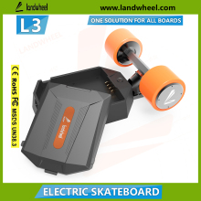 Lastest design electric with 8 maple glass fiber skateboard 36V hub motor Drive Kit wholesale