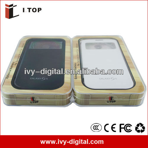 High Quality External Backup Battery Charger for Samsung Galaxy S4 i9500 , Power Bank Manufacturer