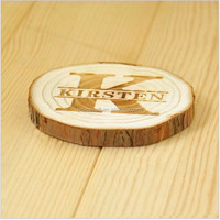 Factory Wholesale Custom cork coaster wood coaster