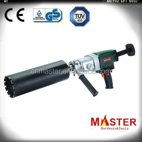 "MASTER 80mm 1500W 3.5"" Concrete Core Drill machine/ Wet and Dry Stand fits Hilti Diamond Bit drill(MT-80P)"