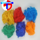 recycled colored polyester fiber, dope dyed polyester fibre