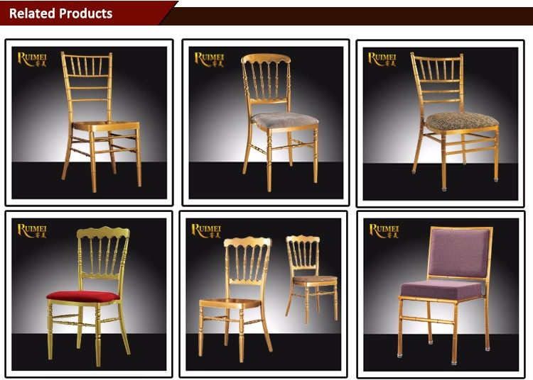 2017 wholesale Hot Sale Metal rent White Chiavari Chairs