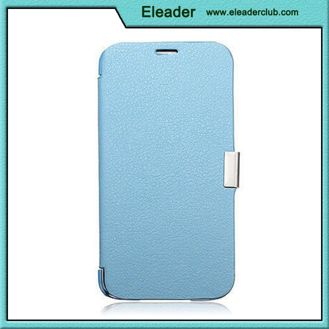 For samsung s5 leather case magnetic flip style ultra slim