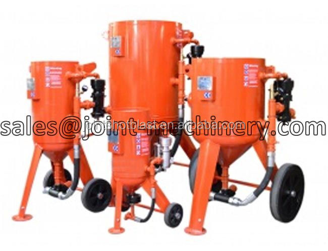 500l stainless steel pot making machine portable sandblast pot