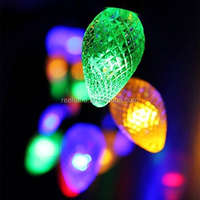 Energy Saving Solar LED Holiday String light with low price
