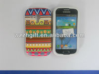 PC+Stick Fabric Phone Case for Samsung 7562