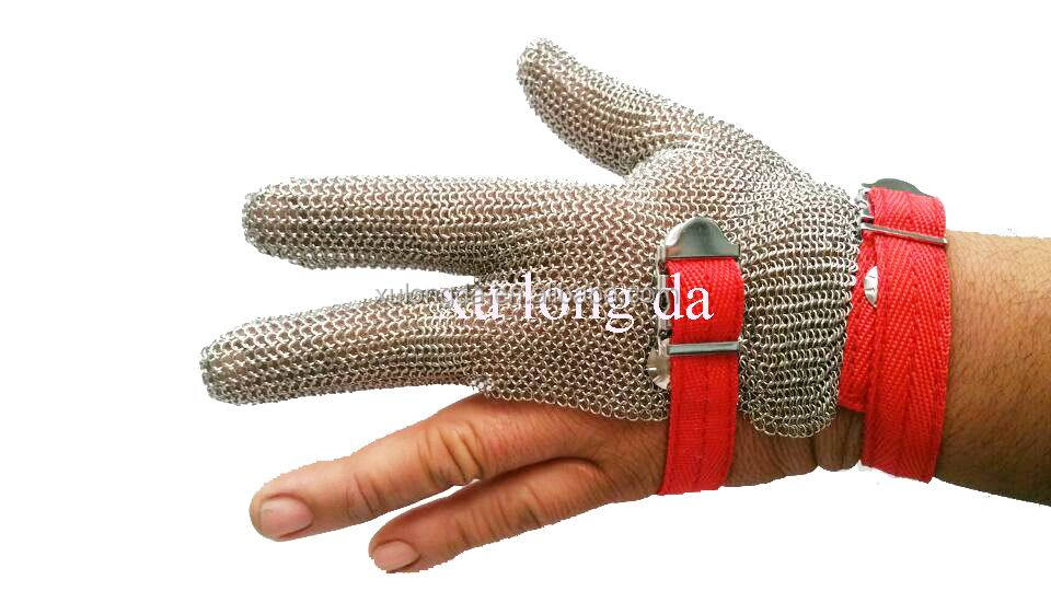 Stainless Steel Hand Woven Gloves