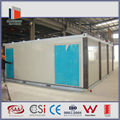 movable prefab flat pack container housing