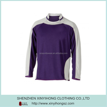Color Combination Dry Fit Long Sleeve Football Wear For Men