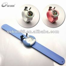 silicone negative ion children slap watch
