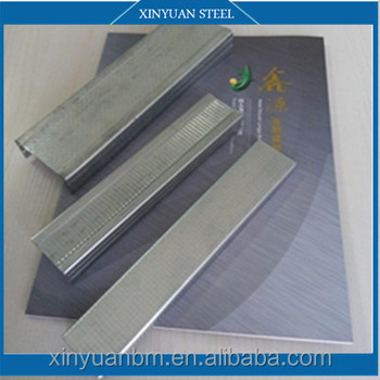 Galvanized Steel Profile drywall Metal Stud And Track ( Free Sample ) differ sizes