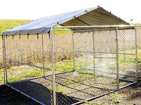 Stephens Pipe & Steel Complete Dog Kennel 10 ft x10 ft x 6 ft