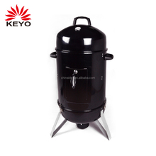 high quality barrel portable camping charcoal fish kettle smoker bullet grills offset vertical water barbecue bbq grill smoker