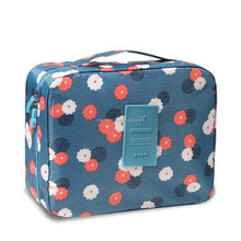 Wholesale Recycled Waterproof Cute Oxford Personalized Cosmetic bags