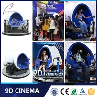 Canton Fair Investment Opportunity 9D VR Game Machine 8D/9D/Xd Cinema 12D Movie Theater
