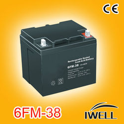 12V 38ah Lead Acid Battery 12V (NP38-12)
