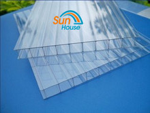Lexan Polycarbonate 6mm double wall hollow sheet