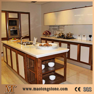 kitchen cutting top best material popular white stone quartz slab table many colors