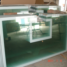 12mm Tinted Tempered Glass With All Aluminum Frame Basketball Backboard