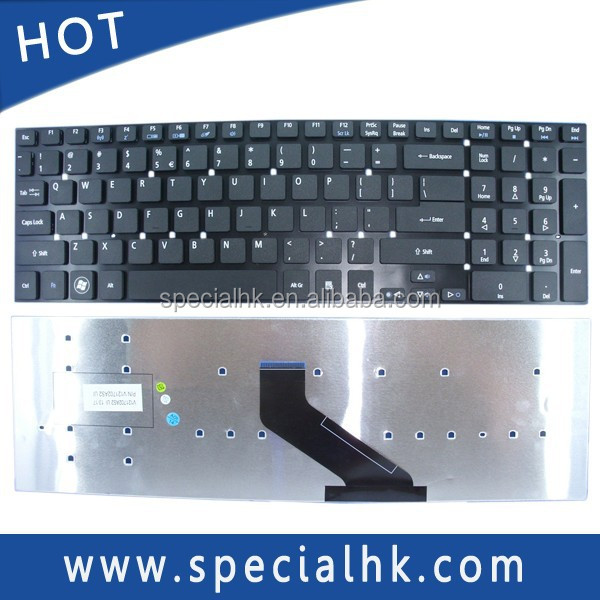 High quality black US laptop keyboard for ACER 5830T 5830G 5830TG 5755 5755G notebook