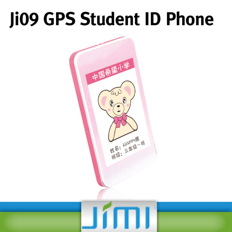 JIMI Big Keyboard Mobile Phone For Kids Contactless Smart Card GPS Tracker With SOS Alarm Platform Ji09