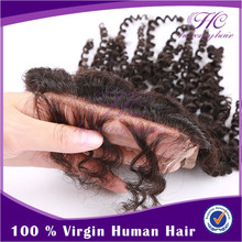 No Shedding And Healthy Free Shipping Soft Cheap Silk Base Lace Closures