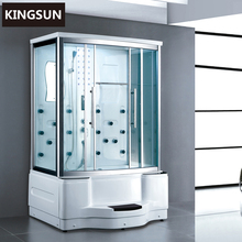 Foshan Factory Bathroom Design Aluminum Sliding Door Steam Shower Room With Hot Tub K-7081