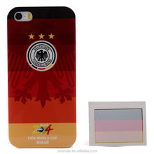 World Cup 2014 Mobile Phone Back Cover Hard Case For iPhone 5 5s