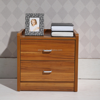 cheap particleboard chest of drawers with walnut looking